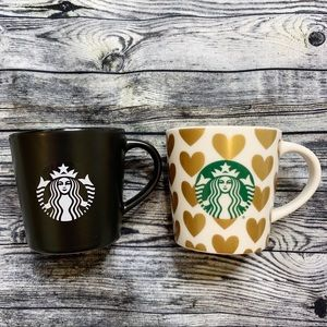 Starbucks Espresso Demi Cups Mugs 2015 Set of 2